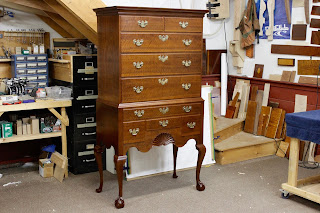 Townsend Goddard Highboy with Ball and Claw feet
