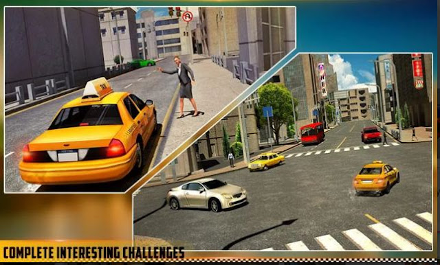 GameTaxi Terbaik Android HQ Taxi Driving 3D
