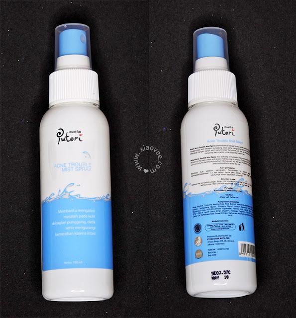 Mustika Puteri Acne Series Review, Mustika Puteri Acne Trouble Mist Spray Review, Cara mengatasi jerawat, cara membasmi jerawat, good bye jerawat, acne products, produk lokal untuk jerawat, produk lokal untuk atasi jerawat, Cara Mengatasi Jerawat punggung