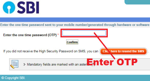 how to reset sbi internet banking login password without using profile password