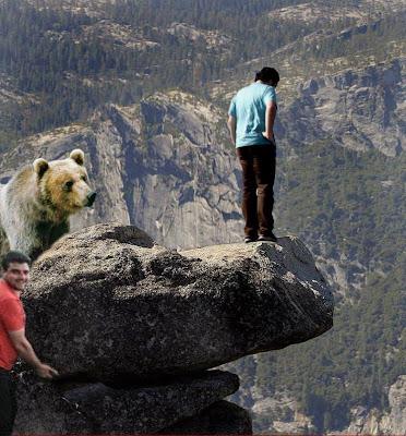 No son los Ports de Beseit, pero se parecen Moncho piedra oso
