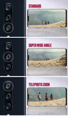 تعرف على الكاميرات الخمسة لـهاتف LG V40 ThinQ