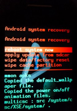 Samsung Galaxy Young GT5360 Hard Reset (Format) Atma