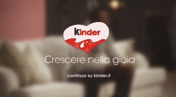 Canzone Kinder pubblicità storie di Gioie: la storia di  Vittoria - Musica spot Gennaio 2017