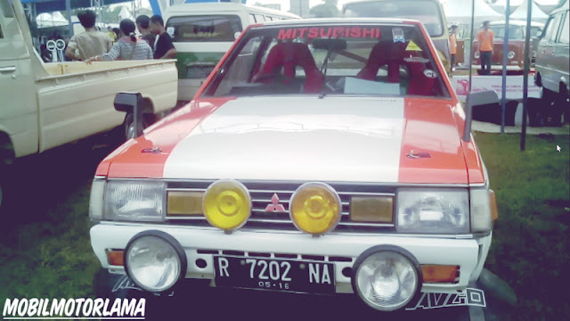 Modifikasi Mitsubishi Lancer SL Rally