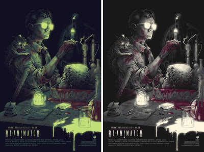 Re-Animator Screen Prints by Pestmeester x Mad Duck Posters