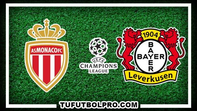Ver Mónaco vs Bayer Leverkusen EN VIVO Por Internet Hoy 27 de Septiembre 2016