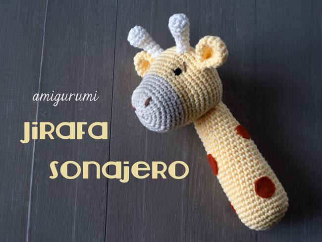 Giraffe baby rattle crochet pattern | Patrones amigurumi, Jirafa ... | 488x650