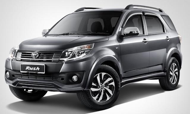 Desain Interior Toyota Rush