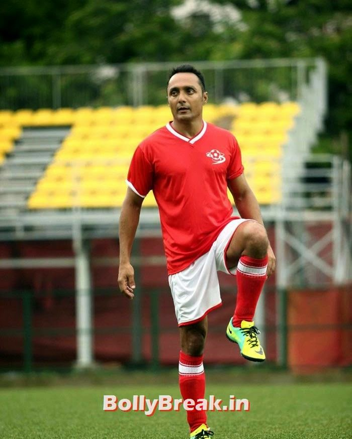 Rahul Bose, Bollywood Celebs play football match for Aamir khan's daughter Ira Khan