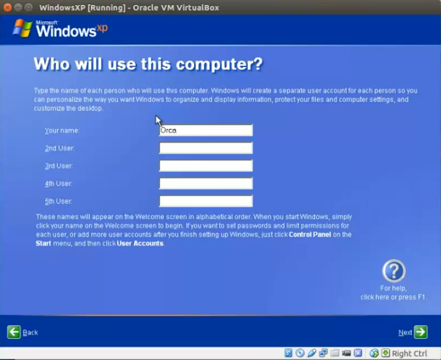 How to install Windows XP in Ubuntu Virtualbox (step by step for dummies) ~ The Geeky . Space