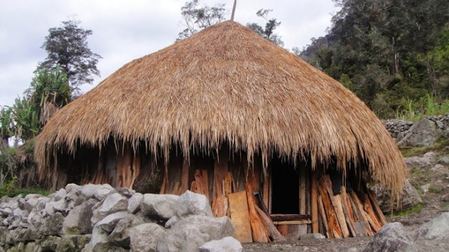 Rumah Adat Provinsi Papua Barat, Rumah Adat, Rumah Honai.
