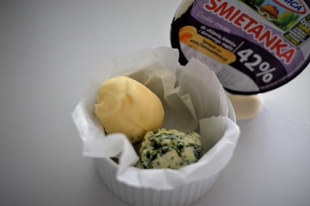 Domowe masło ze śmietanki 42% piątnica