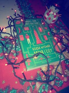 Księga wyzwań Dasha i Lily - recenzja + życzenia świąteczne :)