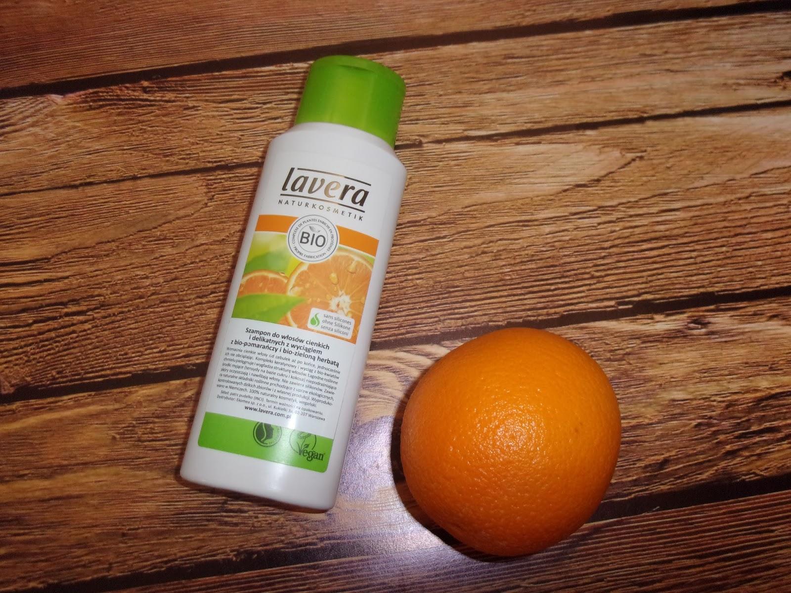 Lavera - szampon do włosów cienkich i delikatnych