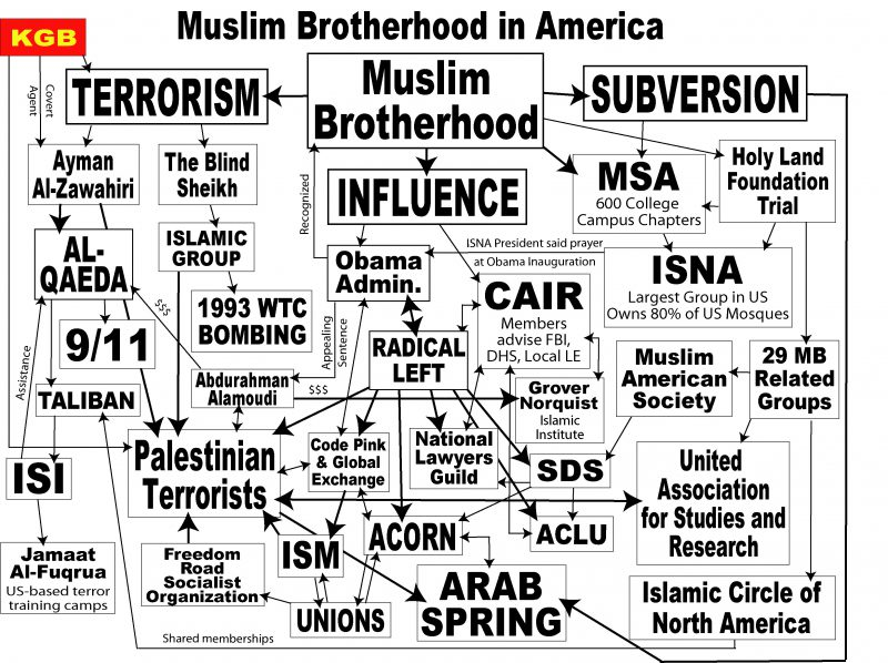 Daphne Anson: On Declaring the Muslim Brotherhood a