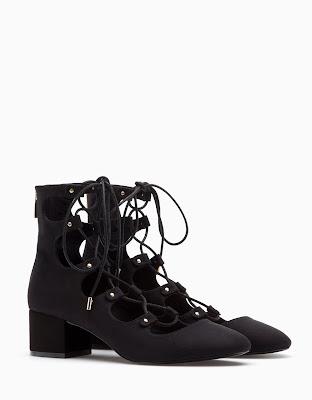 Chaussures à lacets Stradivarius