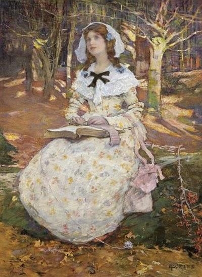 """Elizabeth Forbes, """"El libro abierto"""""""