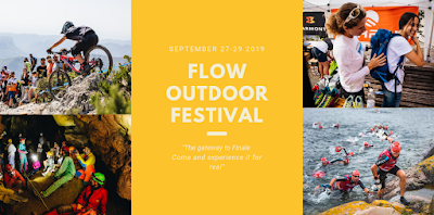 La locandina del FLOW Outdoor Festival 2019