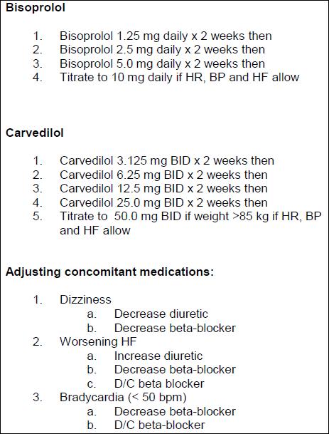 Conversion Metoprolol Atenolol