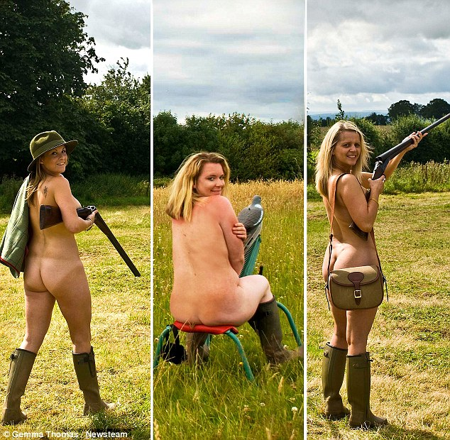 Country Girls Strip Naked For Charity Calendar In Honour -4717