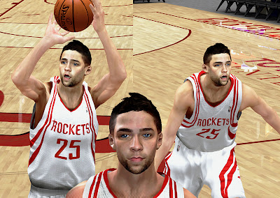 NBA 2K13 Chandler Parsons Cyberface Short Hair Patch