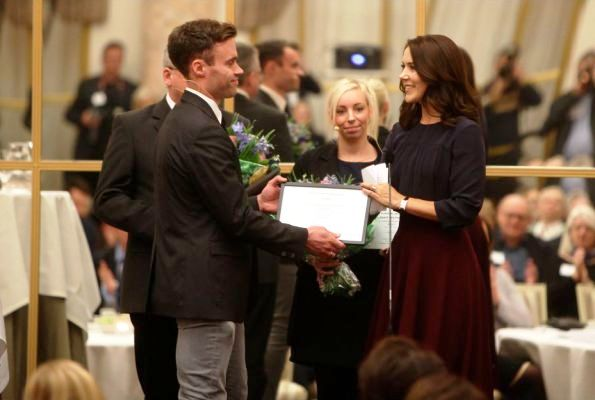 Princess Mary Attended Children's Heart Foundation Scholarship Ceremony