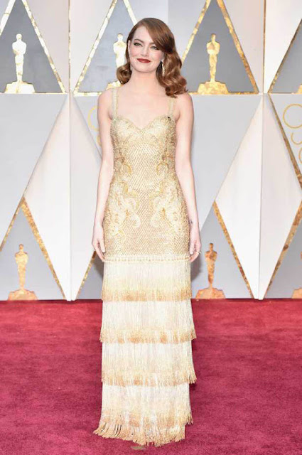 Emma Stone at 89th Annual Academy Awards 2