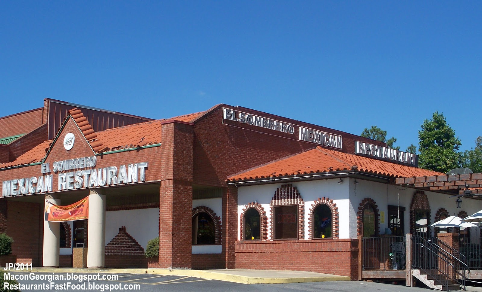 El Sombrero Mexican Macon Georgia Forsyth Road Food Restaurant Ga