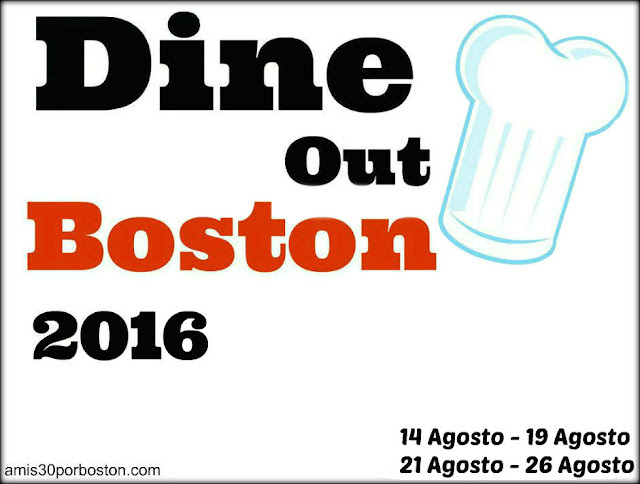 Dine Out Boston Agosto 2016