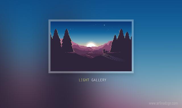 Cara Menambahkan Light Gallery di Tema Blog