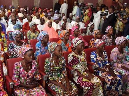 Picture of Chibok schoolgirls