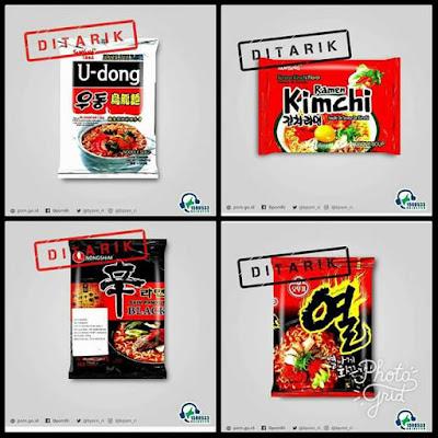menimbang status halal dari mie Samyang food asal Korea