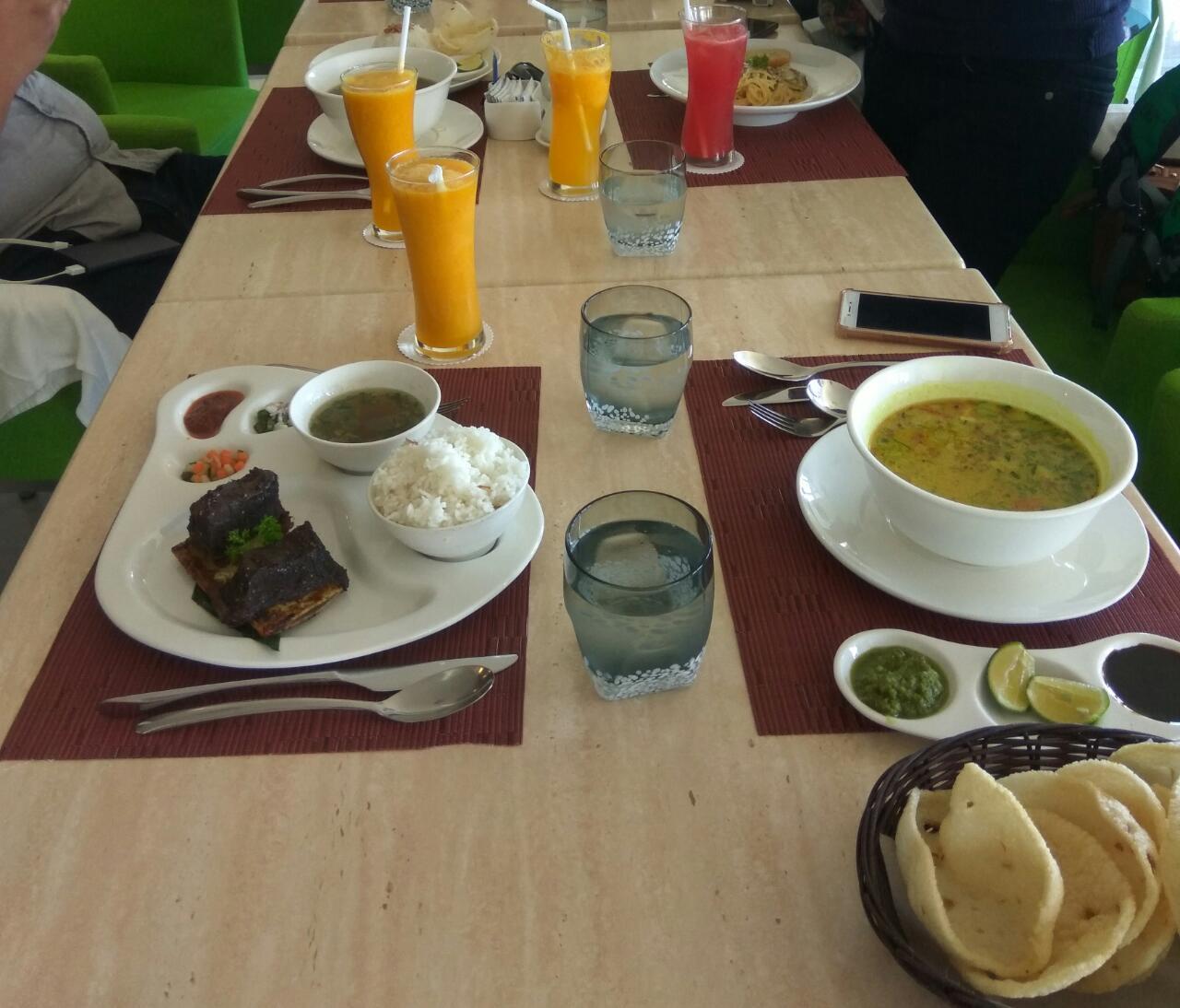 Menu di Restoran