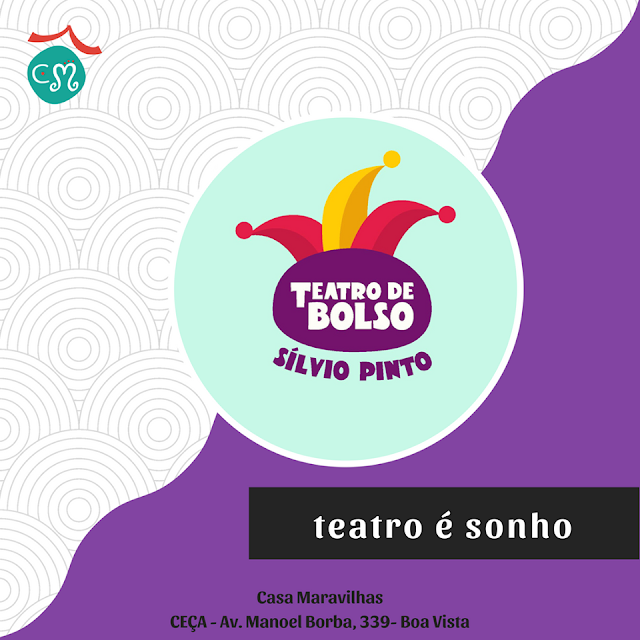 Programação para crianças no Teatro de Bolso Silvio Pinto