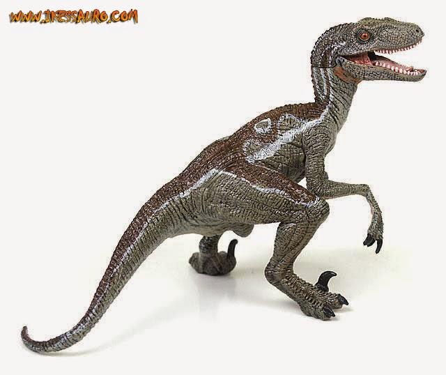 Papo Velociraptor 2010 Jurassic Park 3 Color