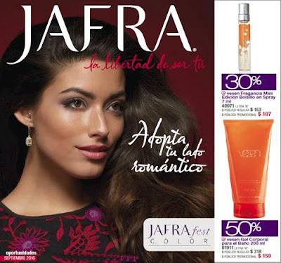Catalogo Oportunidades Jafra Septiembre 16