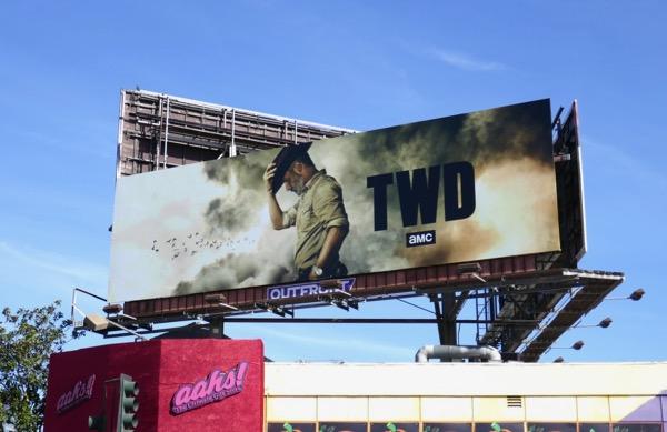 TWD  Rick Grimes farewell billboard