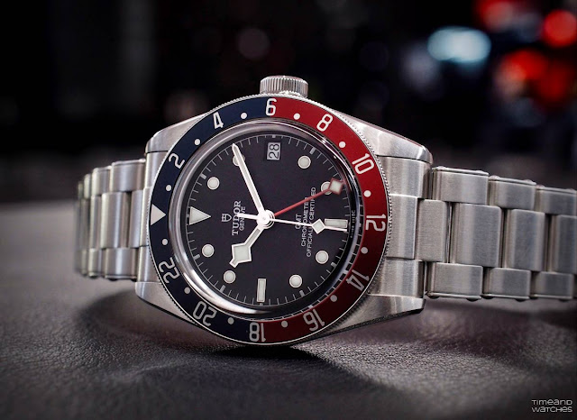 The new Tudor Black Bay GMT presented at Baselworld 2018