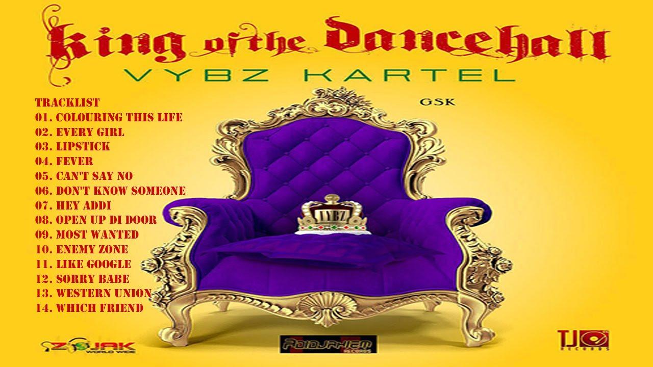 Vybz Kartel - King Of The Dancehall Album, Deluxe Version [Clean