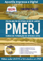 Apostila PDF PMERJ 2017 - Concurso Polícia Militar RJ (Download)