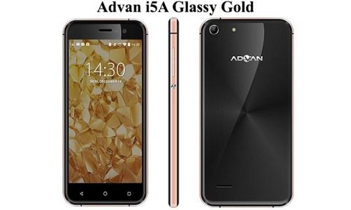 Harga Advan I5A Glassy Gold Terbaru Dan Spesifikasi Lengkap