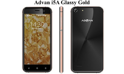 Harga baru Advan i5A Glassy Gold, Harga second Advan i5A Glassy Gold, Spesifikasi lengkap Advan i5A Glassy Gold