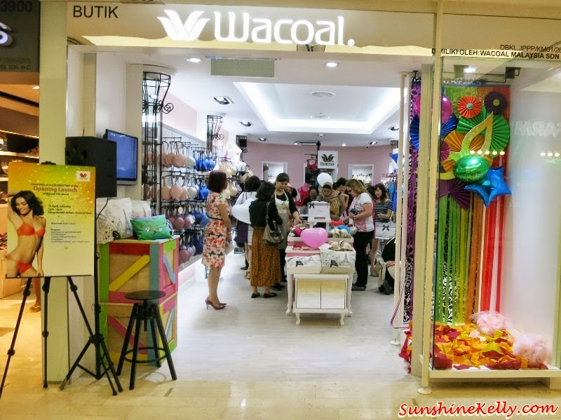 wacoal the store, Wacoal First Malaysia Boutique, fahrenheit88 KL, lingerie