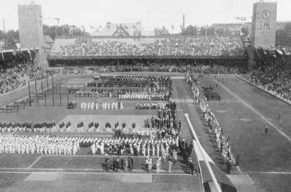 JJOO, Estocolmo 1912, Ceremonia de Inauguración