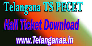Telangana TS PECET HallTicket TSPECET 2017 Hall Ticket Download