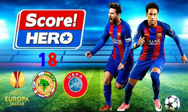 تحميل لعبة Score Hero 2018 مجانا