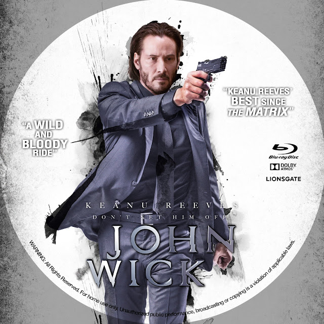 Label Bluray John Wick