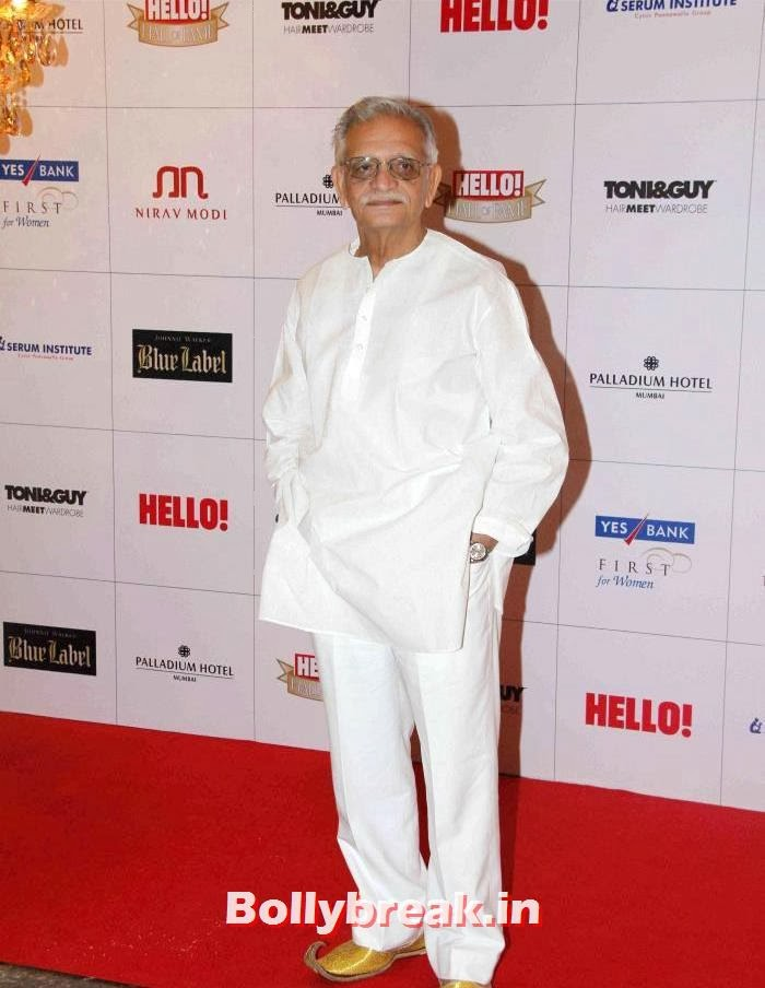 Gulzar, Hello Awards 2013 Pics