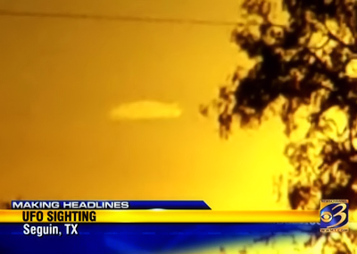 UFO Sighting Makes Headlines in Seguin, Texas